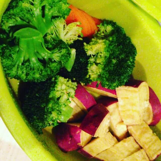 温野菜の作り方