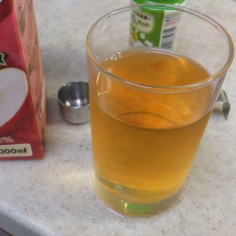 りんご酢ジュース