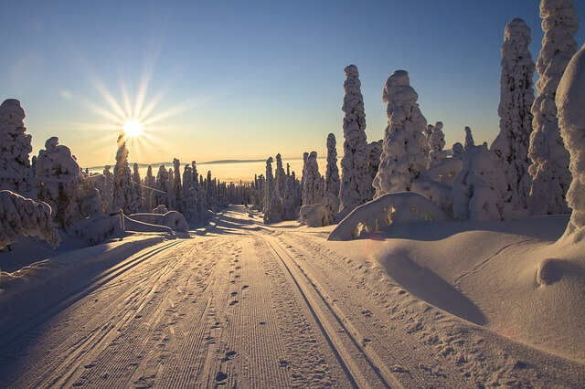 冬の紫外線