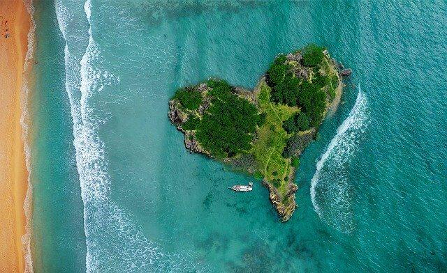 ハートの孤島