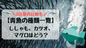 青魚の種類一覧