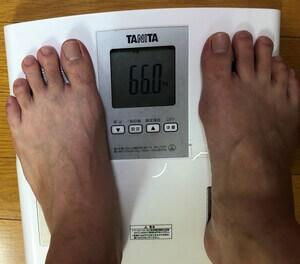 ダイエット前の体重