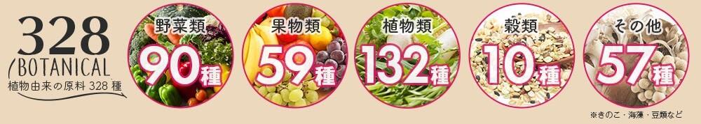 もぎたて生スムージーに使われている野菜・果物