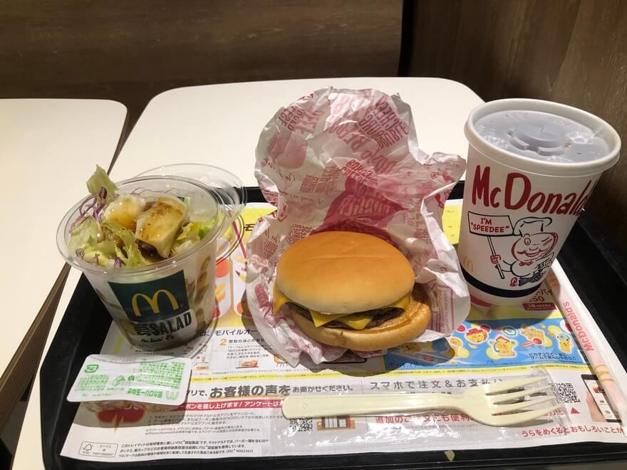 ダイエット中におすすめのセットメニュー