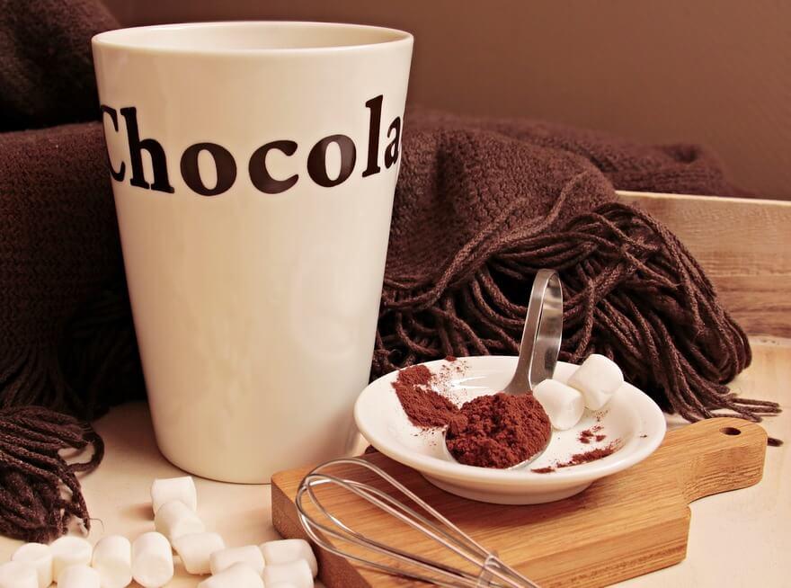 ココアはダイエットに優しい飲み物