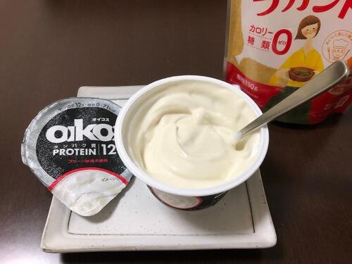 オイコスのダイエットに良い甘味の付け方3