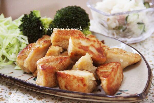 カリッじゅわっの高野豆腐